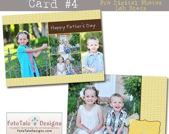 INSTANT DOWNLOAD My Hero Card 4- custom photo templates for photographers on WHCC, ProDigitalPhotos and Millers Lab Specs