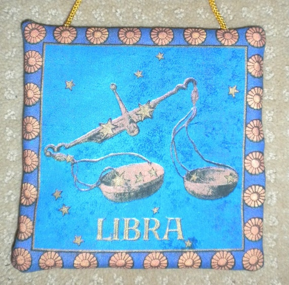 Zodiac libra celestial fabric astrology astrological wall for Astrology fabric