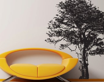 Vinyl Wall Decal Sticker Tree 859s