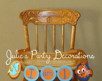 Finding Nemo High Chair Banner