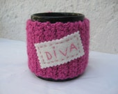 COZY Coffee Cup or Mug - Pink DIVA-