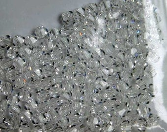 144pcs Swarovski Bicone Crystal Beads Crystal Faceted Austrian Crystals 2.5mm Xilion Model 5328