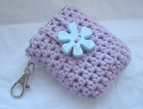 Crochet Patterns Keychain : Crochet Pattern Kleenex Tissue Holder Case Cozy Keychain - Mini ...