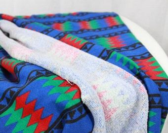 SALE ITEM Vintage Tribal Fabric Southwestern fabric