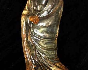Kuan Yin, Goddess of Compassion, resin statue
