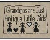 PDF E pattern Primitive Grandmas Cross Stitch Pattern Sampler 126