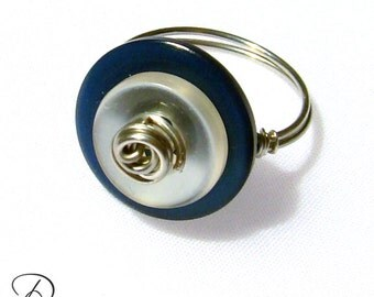 Navy Button