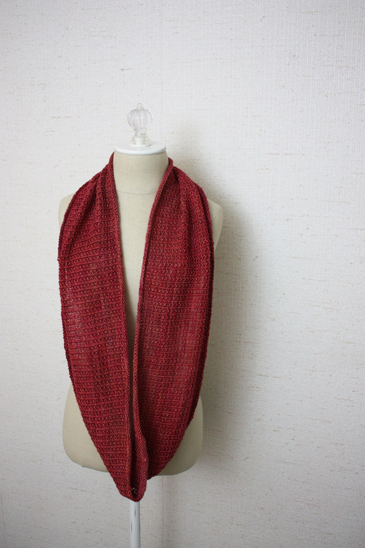 Cowl Pattern / Knitting Pattern / Infinity Scarf Long Cowl