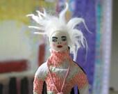 OOAK/ Handmade Art Doll statuette / Katie