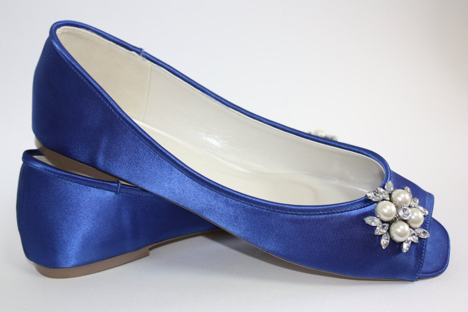 Emejing Blue Wedding Shoes Flats Gallery - Styles & Ideas 2018 ...