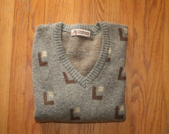 Vintage Retro Modern Shapes Sweater