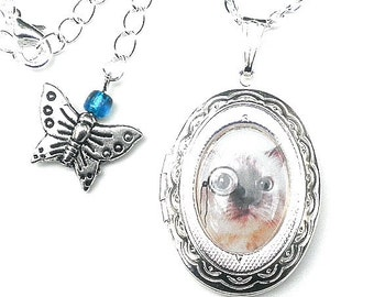 PS, Clearance SALE, Steamy Locket Necklace