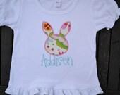 Garden Bunny Shirt or Onesie