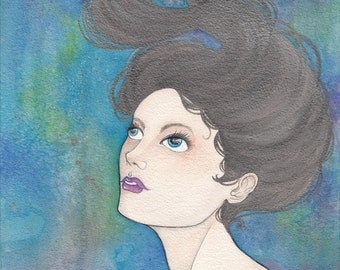 Original Painting: Lady in the Lake