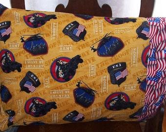 Standard Pillow Case-Military Pillow Case