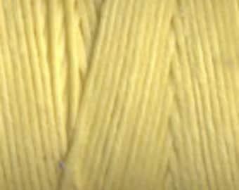 5 Yards of Lemon Yellow 4ply Irish Waxed Linen Thread