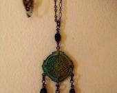 Victorian Black Patina Necklace