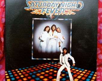 Vintage Saturday Night Fever Original Soundtrack Album 1977 Disco 70's