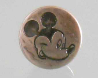 Mickey Mouse  Button or Cufflink or Stud