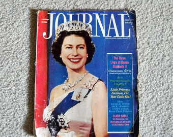 Vintage Magazine Ladies Home Journal July 1961
