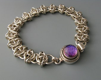 Celtic Visions Chainmail Bracelet