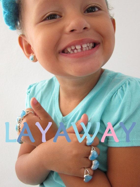 Reserved Larimar AAA ring, Harvest Moon - beautiful summer blue sky Larimar crescent - US 7.5 - Part 1 of 2