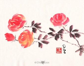 Red Roses 8x10 (Print)