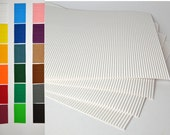 "8 Large sheets 13""x 9"" corrugated cardboard for crafting"