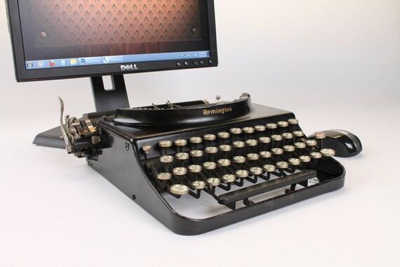 USB Typewriter Computer Keyboard -- Remington No. 3 from 1929