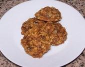 Pumpkin Oatmeal Chocolate Chip Cookies ( 1 Dozen )