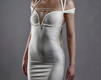 Braided Strappy Dress