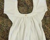Chemise with Sleeves and Gussets