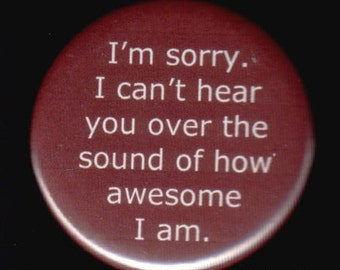 Awesome Me Button