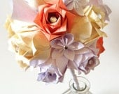 Handmade bouquet of calla lilies and roses- Wedding bouquet, one of a kind, made to order, bouquet recreation, first anniversary gift