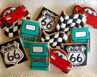 Automobile Themed Sugar Cookie Collection