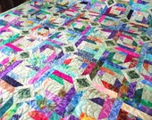 King size PARADISE quilt by Sweet Tooth Quilts     May be purchased On Approval