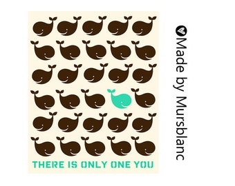 Childrens room art nursery. There is only one you - printable