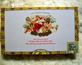 Cigar Box for crafting, purses, supply - La GLORIA CUBANA - Corona Gorda - Empty Box