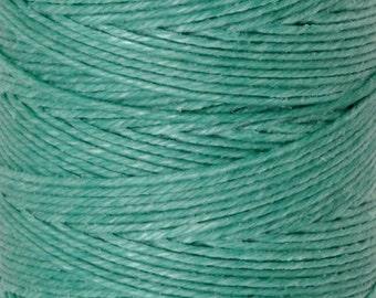 Tools & Supplies-4-Ply Irish Linen Cord-Waxed-Sage-Quantity 100 Yards