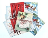 Assorted Christmas Cards with Envelopes Lot of 37 Unused