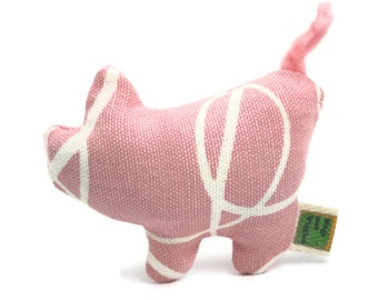 Organic Catnip Toy Pig