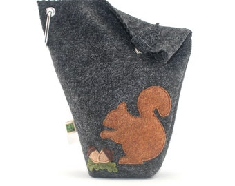 Leash Bag Large Squirrel