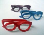 3 x Miniature Plastic Sunglasses 2