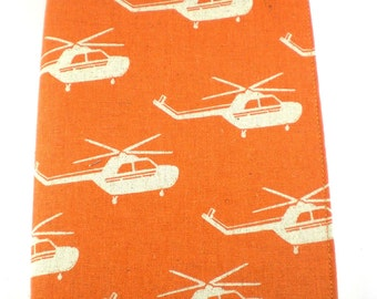 Medium Softcover Journal - Helicopters - Japanese Import fabric