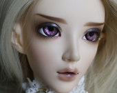 BJD eyes Doll eyes Hand made available in 12141618202224mm Delicious Damson made to order