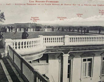 Antique French Postcard  - Les Basses-Pyrenees, France