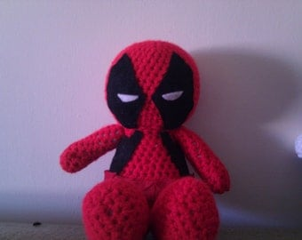 Crochet Deadpool Doll