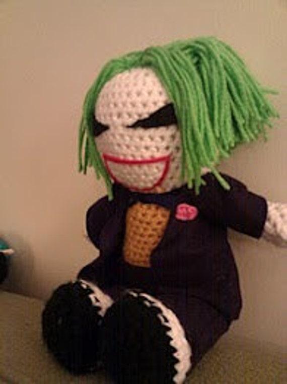 Custom Crochet Batwomanand Question dolls