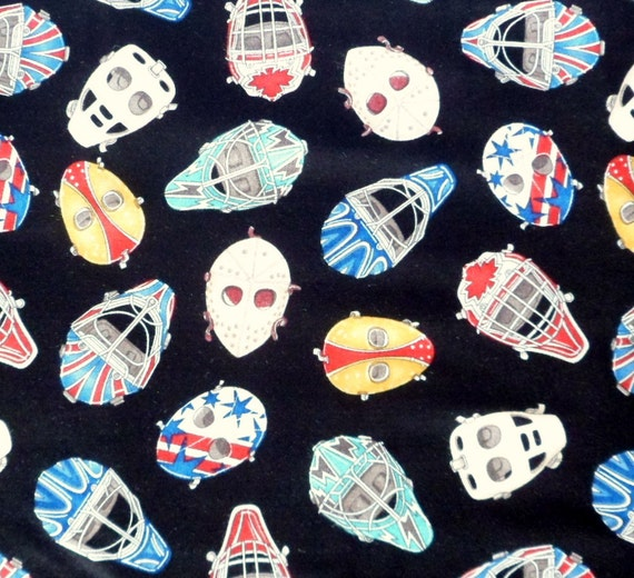 Ice Hockey Fabric Goalie Player Masks Sew Sporty Dan