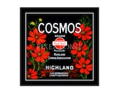 Blank Journal - Cosmos Brand Citrus  - Fruit Crate Art Print Cover